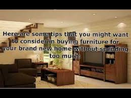 furnishing a new home tips to furnishing your home for less youtube