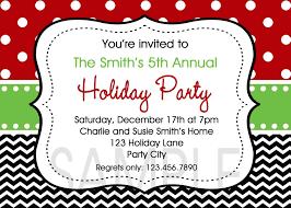 elegant christmas party invitations ne wall