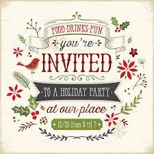 hand drawn holiday party invitation stock vector art 516312039