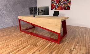 Modern Industrial Desk by Industrial Reclaim 100 Handmade Modern Industrial Furniture