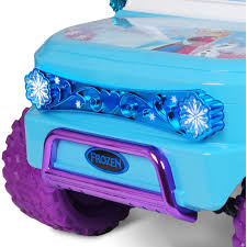 turquoise jeep disney frozen suv 12v battery operated ride on walmart com