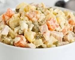 cuisine russe facile recette salade russe