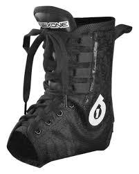 sixsixone motocross helmet six six one race brace pro ankle brace revzilla