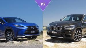 lexus suv vs bmw suv lexus nx200t vs bmw x1 xdrive25i review carsguide
