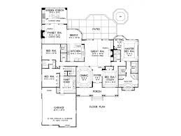 very nice open one level plan even has the great jack and jill