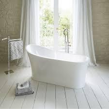 1650mm modern freestanding bath luxury double ended large bathroom