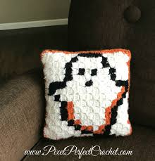 boo tiful crochet halloween pillow part 1 free graph and