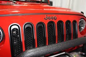 Rugged Ridge Grille Inserts Jeep Jk Rugged Ridge Brand Products Awt Off Road Houston Tx