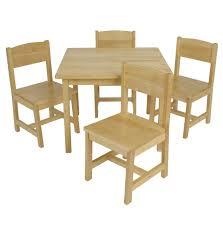 kidkraft farmhouse table and chair set 2324