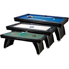 3 in 1 air hockey table fat cat phoenix mmxi 3 in 1 game table pool billiard air hockey