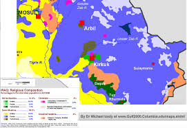 Iraq Province Map The Ahl E Haqq Minority Faith Fights For Its Homeland In Northern