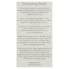 elf writing paper e l f contouring make up brush walmart com