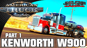 trucking companies with kenworth w900 american truck simulator ats kenworth w900 rollin u0027 down the