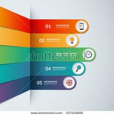 banner design jpg infographic number banner design elements download free vector art