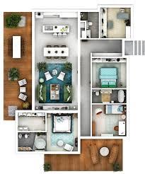 3d floor plans architectural floor plans thumbs dreamstime com b d floor plan furnished hou