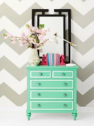 How To Paint Furniture White by How To Paint Fun Designs On Your Dresser Hgtv
