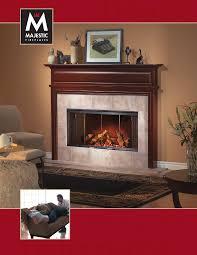 majestic indoor fireplace bref36 user guide manualsonline com