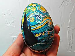 ukrainian egg starry ukrainian egg