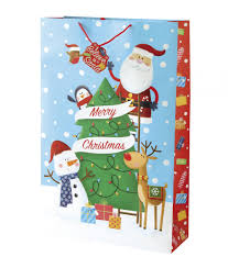 large christmas gift bags christmas kids gift bag cancer research uk online shop