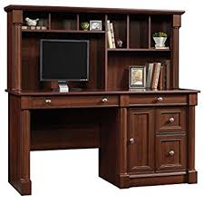 Computer Desk With Hutch Cherry Sauder 420513 Palladia Computer Desk And Hutch Cherry