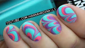 water marble nail art tips u0026 tricks youtube