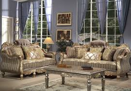 interesting traditional living room ideas showing luxury brown interesting traditional living room ideas showing luxury brown upholstery fabric loveseat sofa with hand carved gold