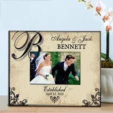 personalized wedding photo frame personalized wedding frame walmart