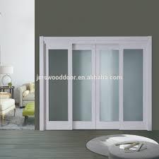 wood room door gate soundproof interior sliding door room dividers