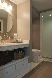 best images about bathroom pinterest porcelain tiles under sink shelf storage bathroom