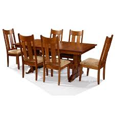 Amish Kitchen Table by Hoot Judkins Furniture San Francisco San Jose Bay Area Simply