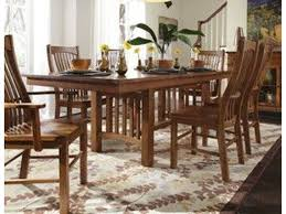 a america dining room laurelhurst trestle table mission oak lau