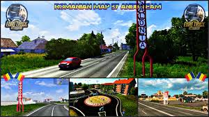 Romania Map Romanian Map By Andu Team Ets 2 Download Mod Youtube