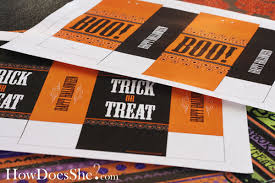 free printable halloween treat bags u0026 candy wrappers chickabug