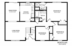 Foyer Plans Modern Split Foyer Homes Luxury Split Bedroom House Plans In