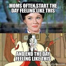 Mary Poppins Meme - when you start the day like mary poppins and end it like cruella de
