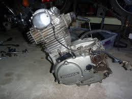 r4l 1974 honda xl350 engine removal