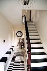 black white striped carpet runner carpet vidalondon