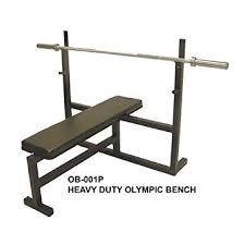 Bench Press Heavy Amazon Com Olympic Bench Press W 7 U0027 Bar 255 Lb Plate Set U0026 2