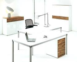 White Home Office Desks Contemporary Home Office Desk Vanessadore
