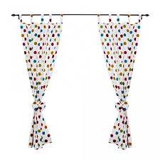 schlaufenschal kinderzimmer kinderzimmer gardinen 2er set vorhänge mit schleifen dekoschal
