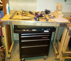 furniture stunning appealing hardwood workbench home depot and