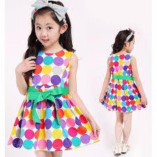 2017 lovely sale 2016 kids summer dress polka dot sweet