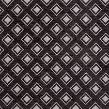 b0840e black and silver woven small diamonds chenille upholstery