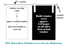 How To Make Your Own Barn Door by Project Kid U0027s Bathroom Diy Barn Door Window Cover For The