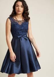 cute blue dresses modcloth