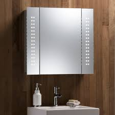 led mirror cabinet with integrated shaver socket tags benevola