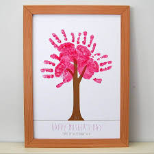 8 adorable mother u0027s day gifts using baby handprints babycare mag