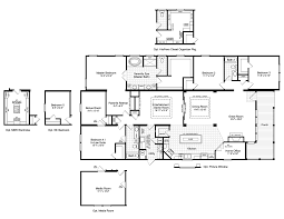 Florida Home Floor Plans The La Belle Vr41764d Manufactured Home Floor Plan Or Modular