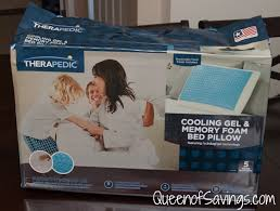 memory foam bed pillows therapedic memory foam bed pillow with hydraluxe gel queen of