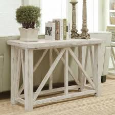 ana white console table ana white rustic x console table the beginning diy projects